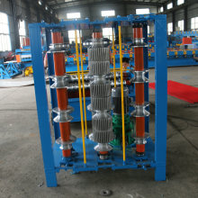 electric curved roll forming machine