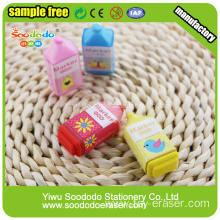 3d Highlighter Shaped Eraser,eraser school use