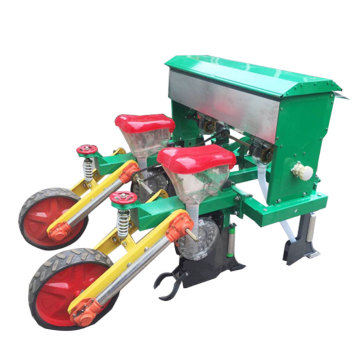 2 rows corn planter with fertilizer machine