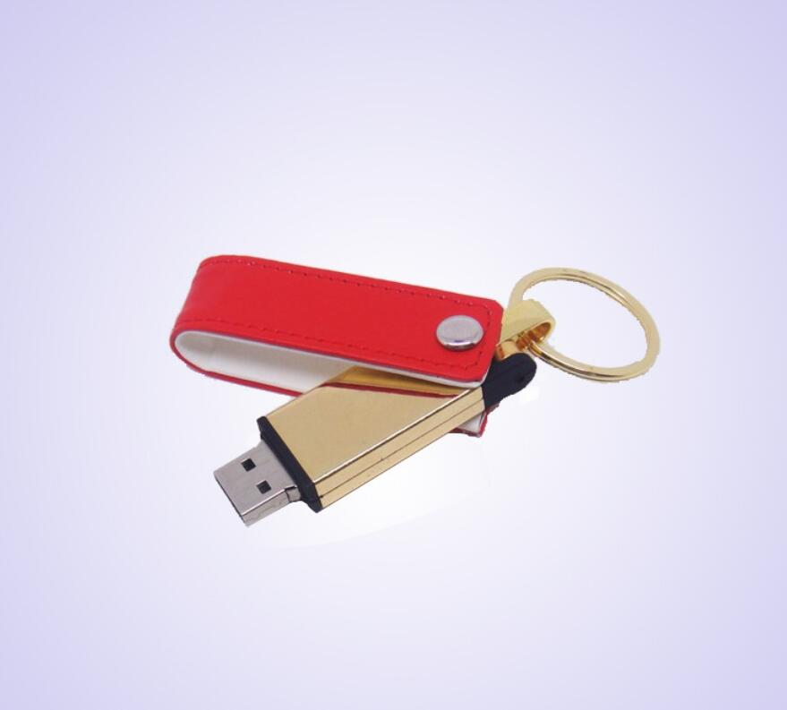 swivel leather usb 2