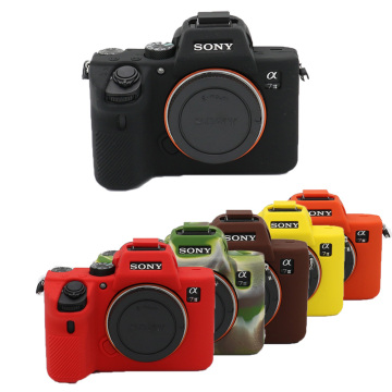 Nice Soft Camera Video Bag Silicone Case For Sony A7III / A7R3 / A7 II / A7 II A7R II A7S II A7R4 A7 IV A7M2 A7M3 A7RM3 A7RM4