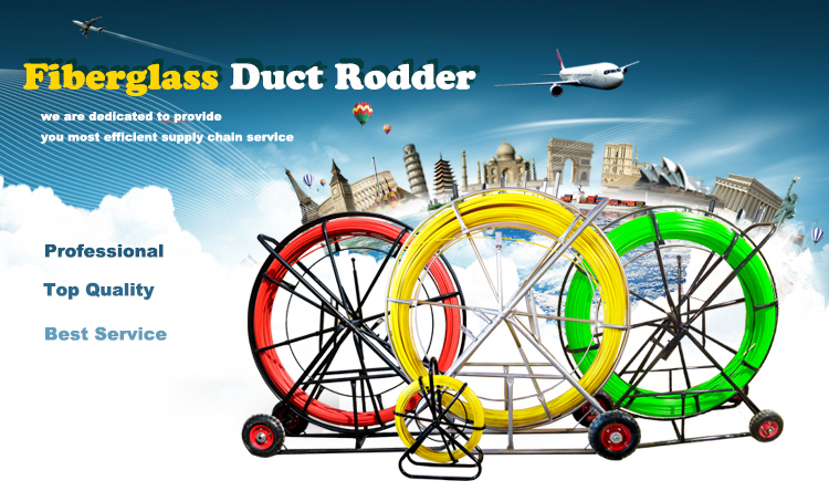 fiberglass duct rodder/duct rod