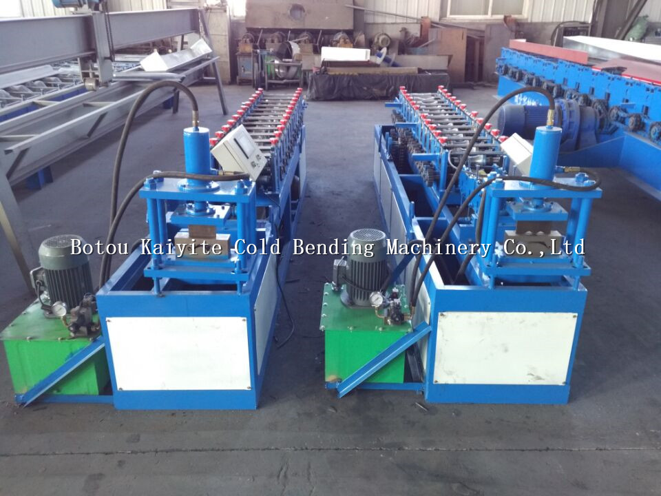 shutter slat door roll forming machine