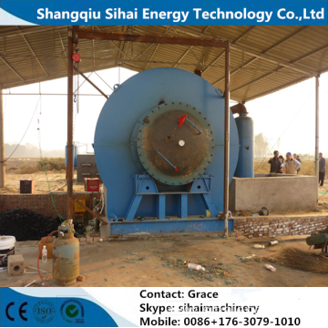 Easy Assembly Waste Tire To Oil Plant