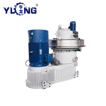 YULONG XGJ560 pellet press machine for wood shavings