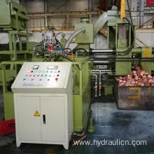 Horizontal Scrap Steel Chips Briquetting Machine Press