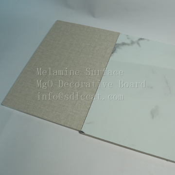 GradeA non-combustible melamine mgo decorative panels