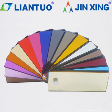 Acrylic Mirror sheets with multiple colors