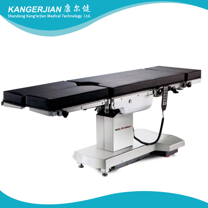 Imported electric integrated operating bed