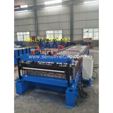 IBR Automatic Trapezoidal Tile Roof Metal Sheet Machine