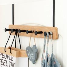 1 Piece Creative Rear Door Cupboard Hanging Hook Rack Coat Sundries Hanger Without Punching