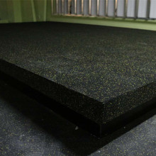 Shockproof anti-fatigue rubber rolls gym flooring