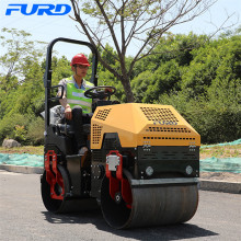 Factory Sell 1000kg Hydraulic Tandem Vibrating Roller