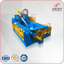 Mobile Hydraulic Horizontal Metal Scrap Iron Baler Equipment