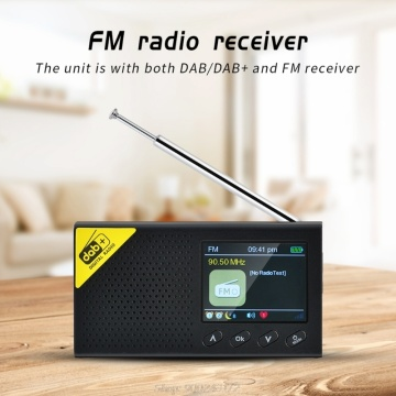 Portable Bluetooth Digital Radio DAB/DAB+ and FM Receiver Rechargeable Lightweight Home Radio S12 20 Dropship