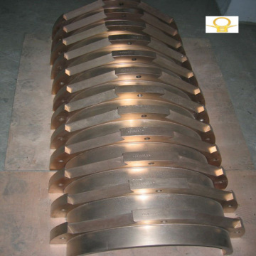Copper sleeves for paper machine