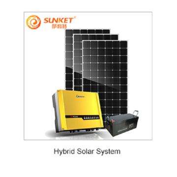 Hybrid solar panel system 3kw with battery storage