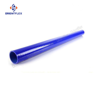 Straight fuel resistant high temperature silicone hose