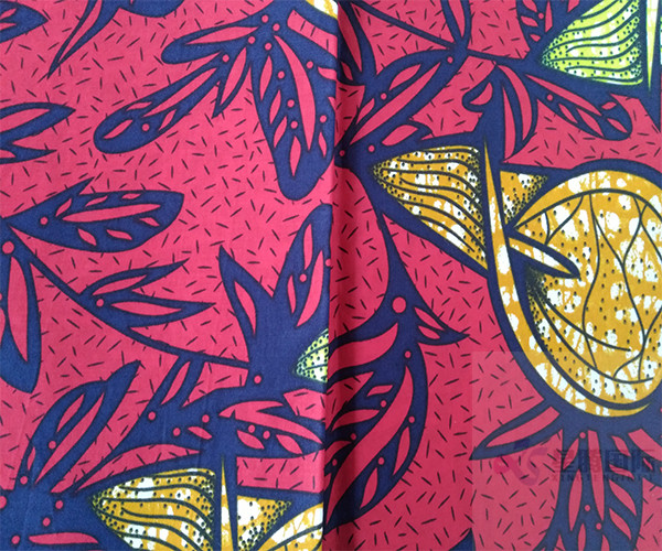 Bright Wax Cotton Fabric
