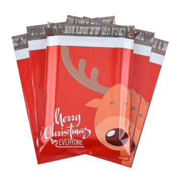 Christmas Self-adhesive Shipping Bags Poly Mailers