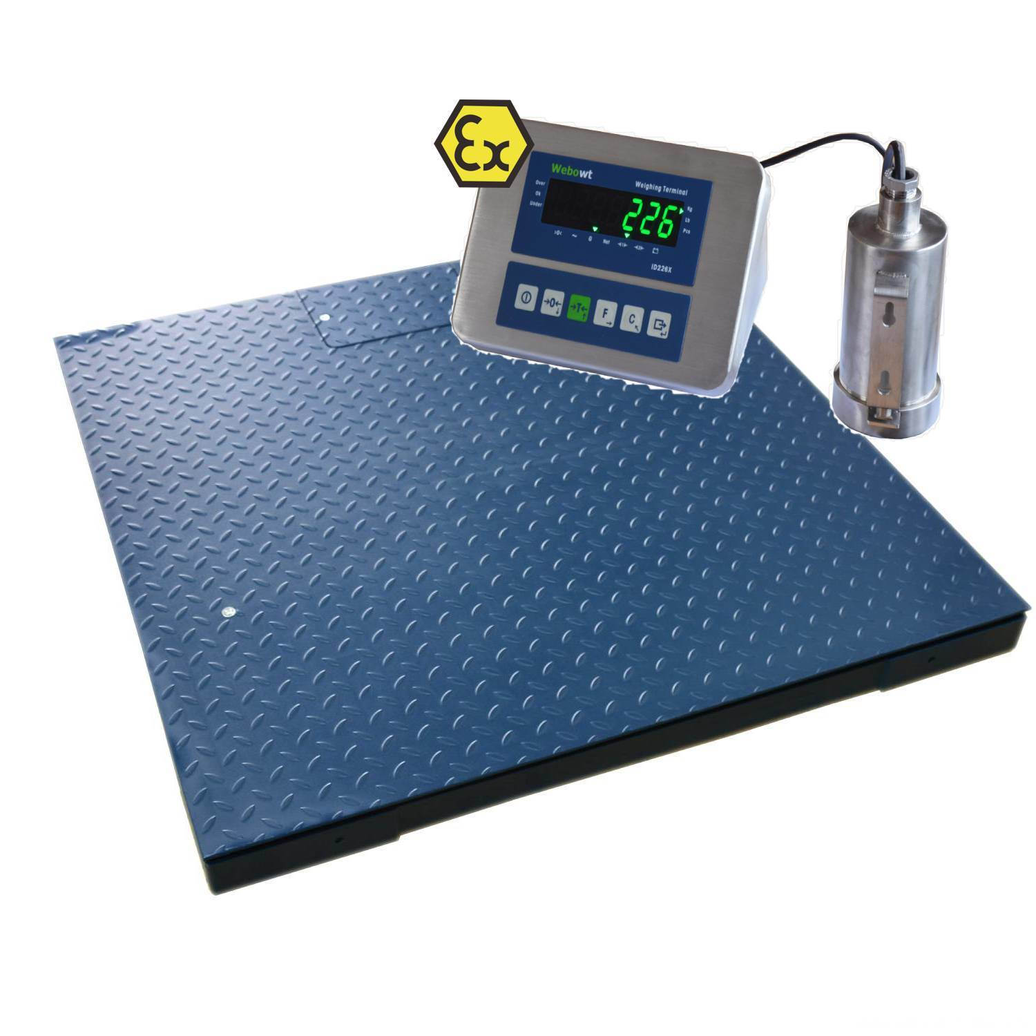 Intrinsically Safe Explosion-Proofc Scale Large Platform
