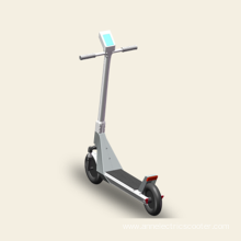 Shock-absorbing two-wheeled sharing electric scooter