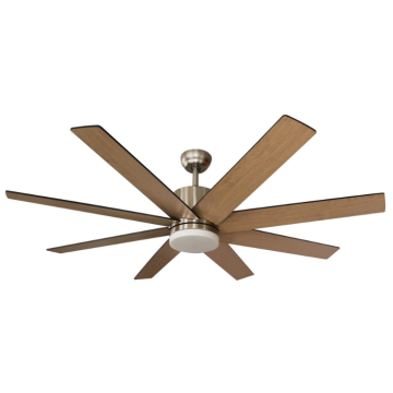 wood ceiling fan with light and remote