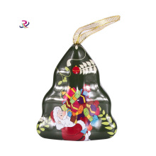 Christmas Tree Candy Tin Box