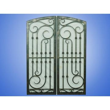 Exterior Arched Wrought Iron Entry Doors