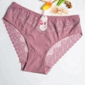 Seamless soft large size maternity panties