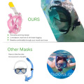 Snorkel Mask With Anti-Fog  Anti Leak Technology