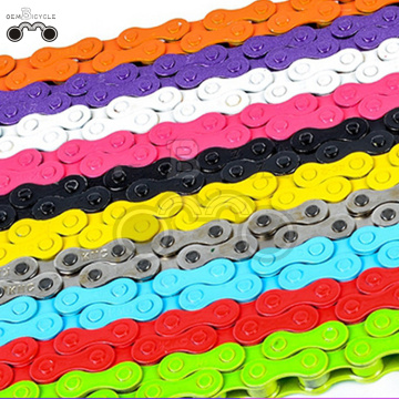 112L Colorful KMC BMX Bike single speed Chain