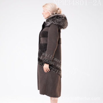Winter Women Australia Merino Shearling Fur Coat
