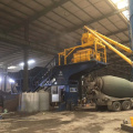 35m3/h ready mix mobile precast concrete batching plant