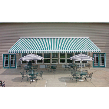 backyard manual retractable awning