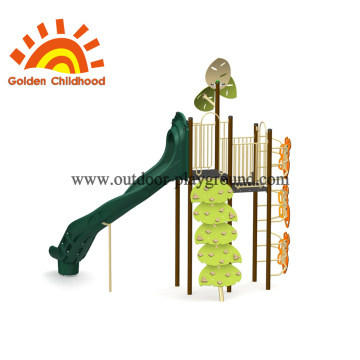Natural Leaves Outdoor Play Structure For Children