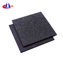 Noise-proof gym fitness rubber flooring mat