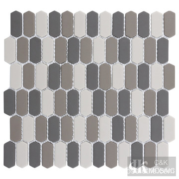 Brown Glass Mosaic Backsplash for Kitchen