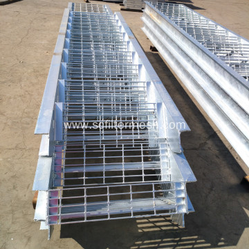 Hot dip Galvanized Steel Grating Staircase