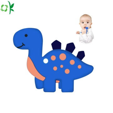 Food Grade Silicone Animal Teether for Baby Toy