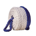 8 stand multiplait mooring ropes for marine boat
