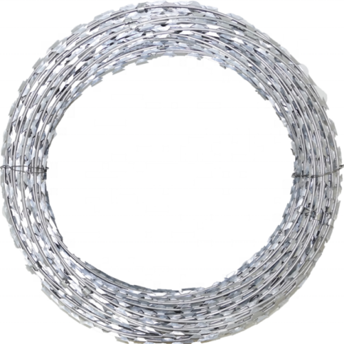 High Quality Galvanized razor barbed wire for sale