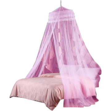 Round Hoop Double Lace Princess Mosquito Net Girls