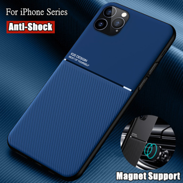 Coque For iPhone 11 12 Pro Max XR XS X 8 7 6S 6 Plus 5S 5 SE 2020 Mini Shell Case With Magnet Cover For Apple iPhone 11 Pro Max
