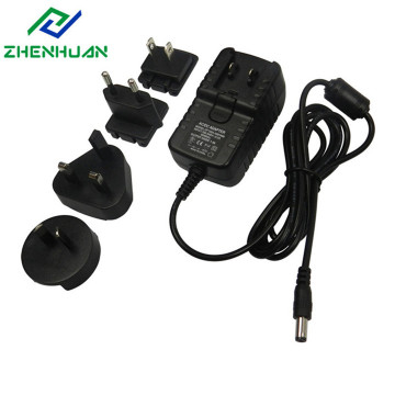 18V1A 18W Multiple Plug Mains Power Adapter Supply