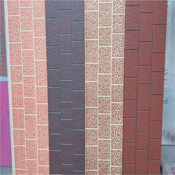 Waterproof fireproof lightweight exterior wall panels