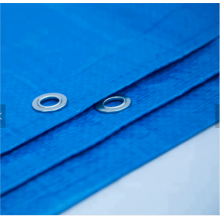 80gsm double blue tarp with UV