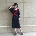 Harajuku Fox Embroidery Kimono Chinese Style Retro Tassels Sunscreen V-Neck Cardigan Loose oat Batwing Sleeved Jacket Tops 2018