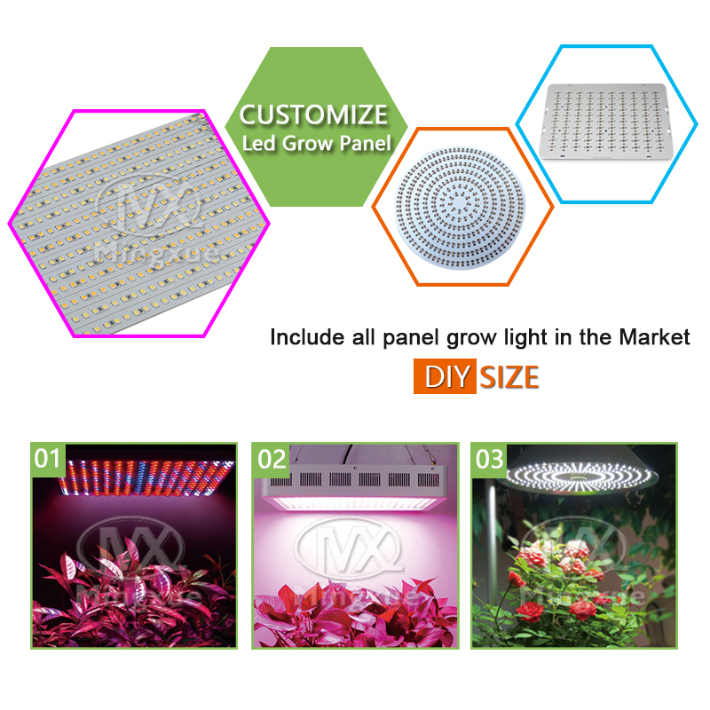 Full Spectrum 45w LED Grow Panel Light