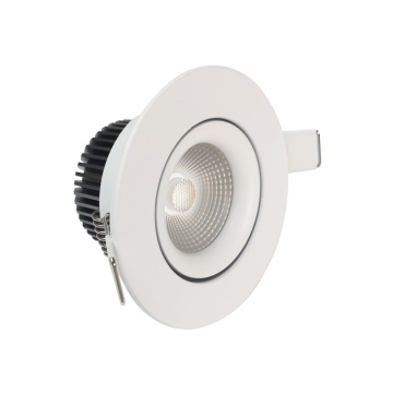 8W anti-blænding dæmpbar led downlight